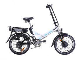 Электровелосипед горный Wellness City x Dual (Сити Дуал) 700 w складной 20 дюймов (полный привод)