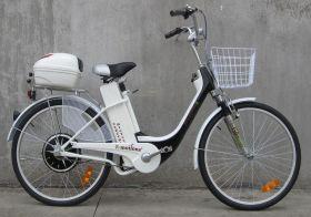 Электровелосипед E-motions Dacha (Дача) 350w  + корзина на руль + кофр на багажник