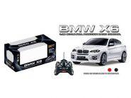 Радиоуправляемый автомобиль BMW X6 черного цвета